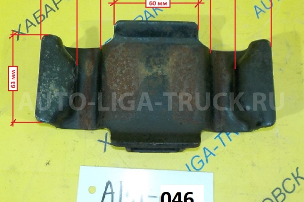 Накладка на рессору Nissan Atlas QD32 Накладка на рессору QD32   55243-T6000
