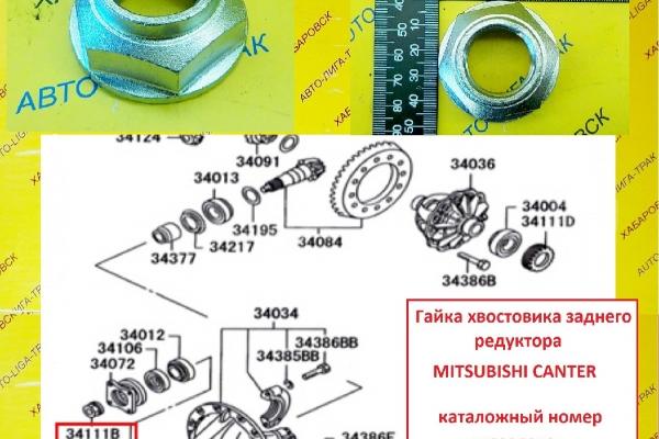 РЕДУКТОР ЗАДНЕГО МОСТА Mitsubishi Canter РЕДУКТОР ЗАДНЕГО МОСТА    mc836872