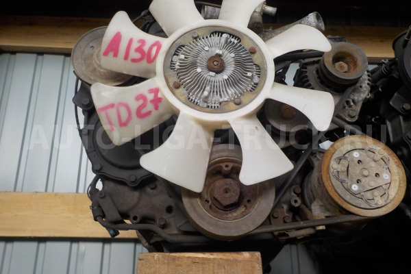 TD27  -  Двигатель Nissan Atlas  -  130