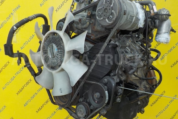 Двигатель в сборе -  4JG2 -  4WD