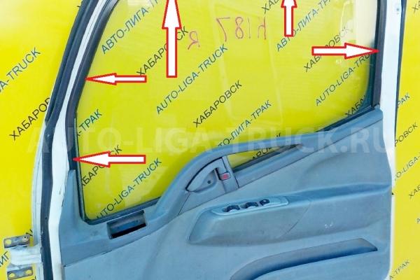 Уплотнитель стекла  Mitsubishi Canter Стекло двери  2001  MK403144